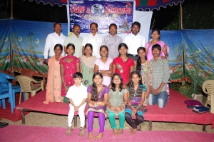 Uma sampath and children